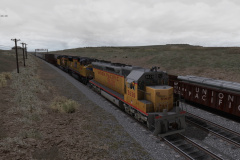 Union Pacific SD45