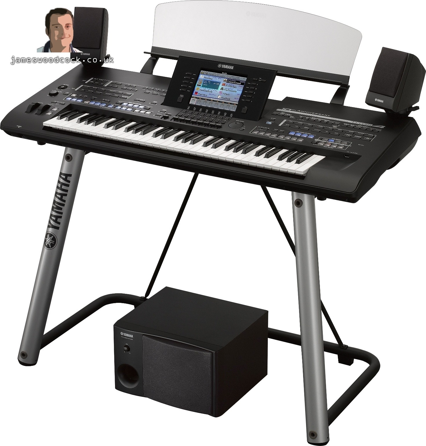 yamaha announce tyros4 keyboard 10th anniversary special. Black Bedroom Furniture Sets. Home Design Ideas