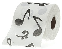 Musical Themed Toilet Roll