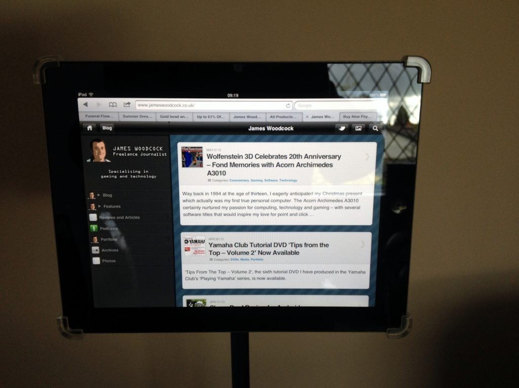 The Gig Easy Ipad Mic Stand Mount Review Attach Your