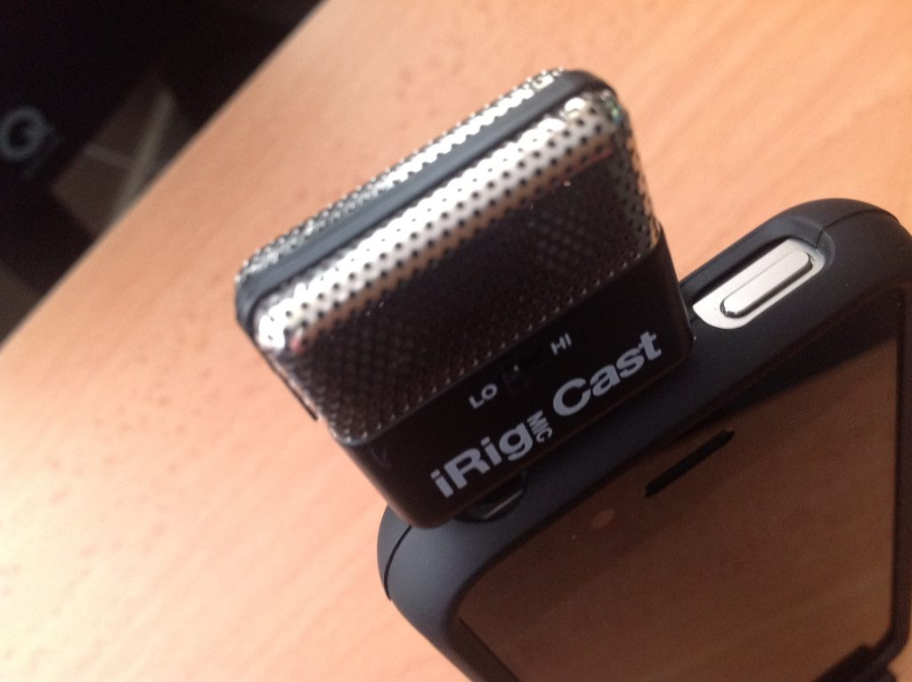 iRig Mic Cast Review – Compact External Microphone for ...