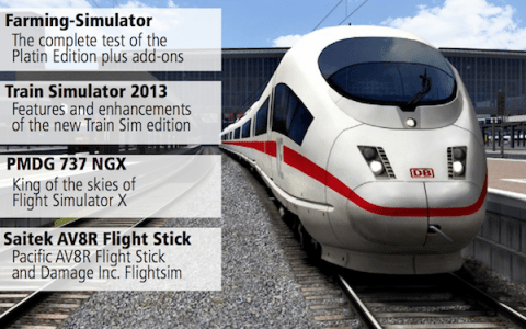 Simulator World Magazine Released (English) – Train Simulator 2013 First Impressions