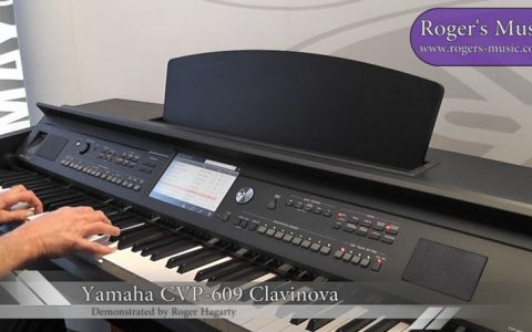 Yamaha CVP-609 Clavinova Digital Piano Revealed – Demonstration [VIDEO] [PHOTOS]