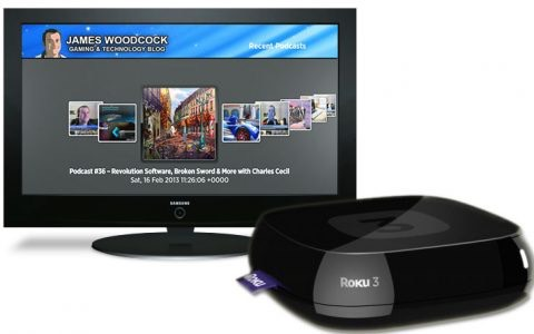 James Woodcock's Podcast Covering Gaming & Technology Now Available on Roku Devices