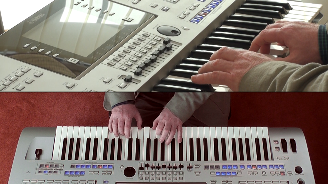 Still from the Yamaha Club Tutorial: Masterclass