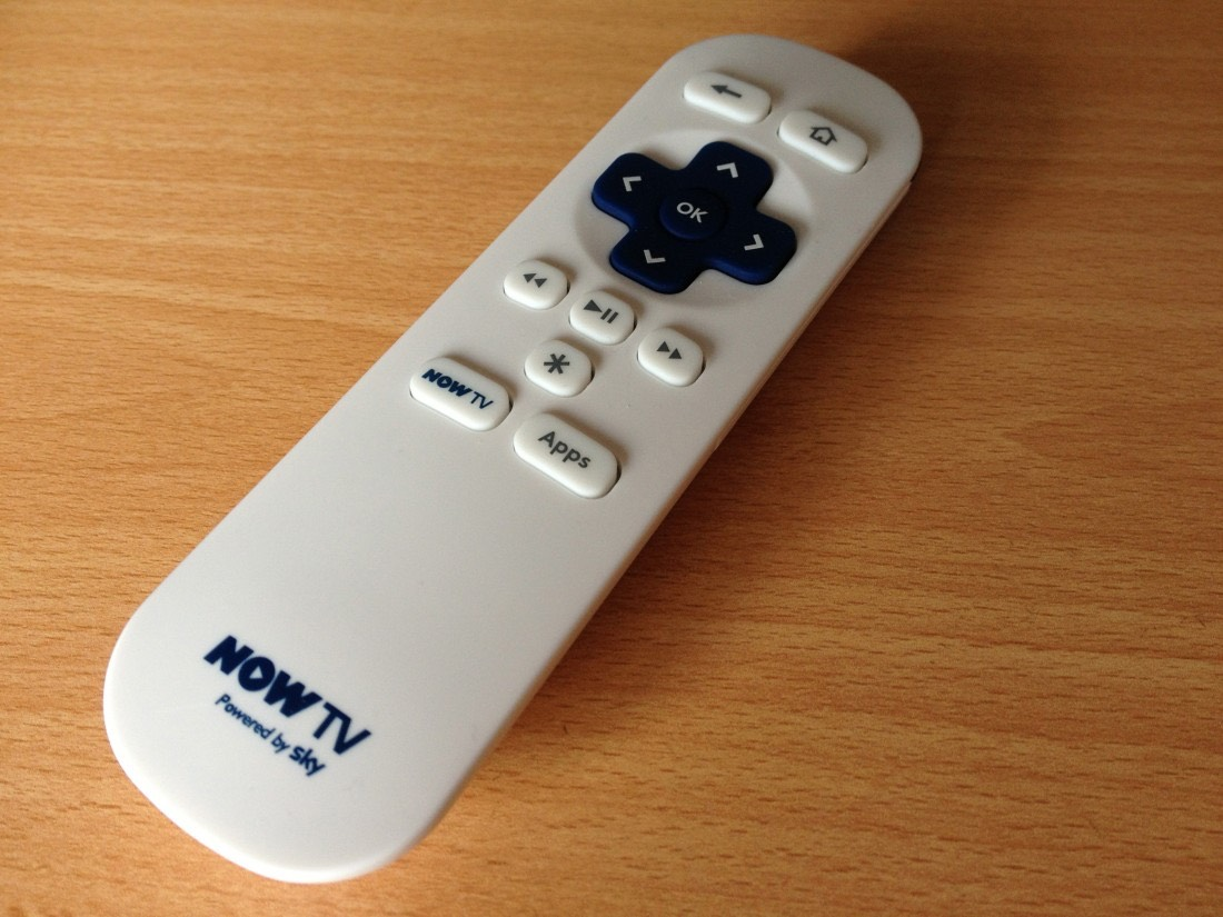 NOW TV Box remote