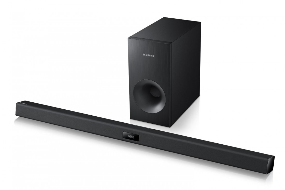 Samsung hw f350 40 soundbar review tv speakers needn t for Samsung sound bar