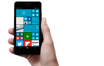 Windows 10 Mobile Live Tiles