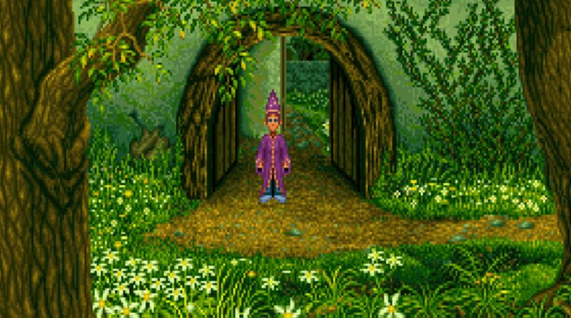 Simon the Sorcerer Forest